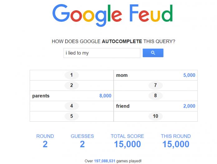 Google Feud People
