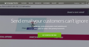 Campaign Monitor - Email marketing for your business