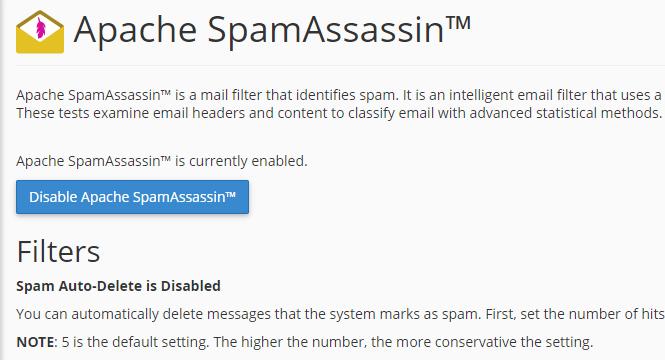 Mailer Daemon Apache SpamAssassin