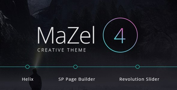 Mazel4 - Creative Multi-Purpose Joomla Theme