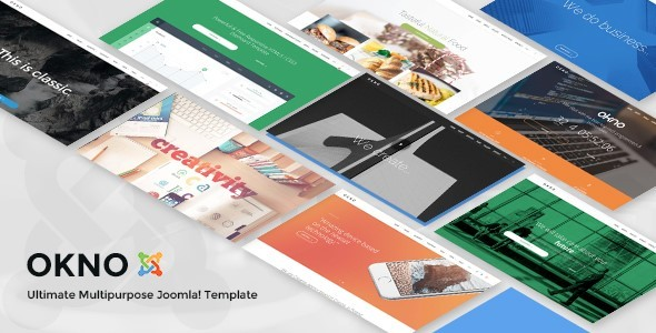 Okno - Multipurpose Joomla Template