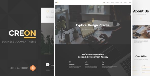 Creon - Business Joomla Template