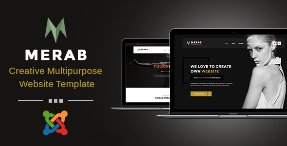Merab - Creative Business Joomla Template