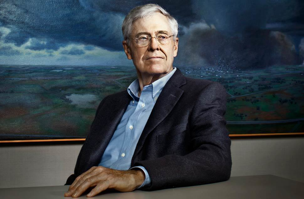 Top 10 richest person in the world for David und charles koch