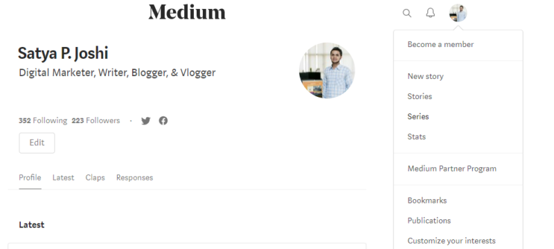 medium free blogging platform 2