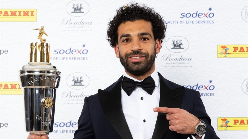 Mohammed Salah Named PFA Player Of The Year