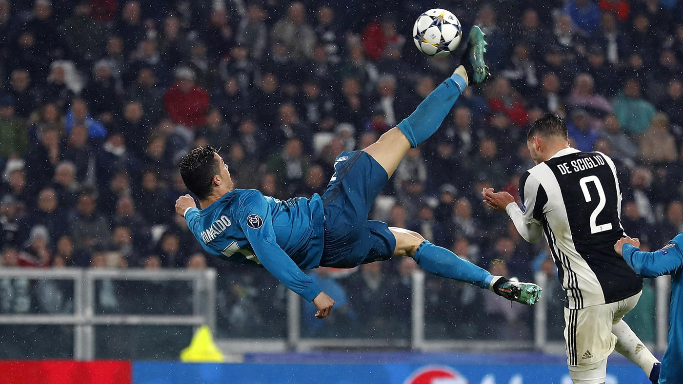 ronaldo bicycle kick goal real-madrid