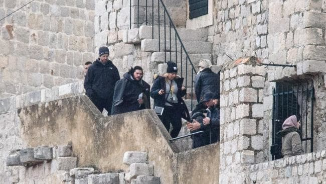 pictures from game of thrones 8 set