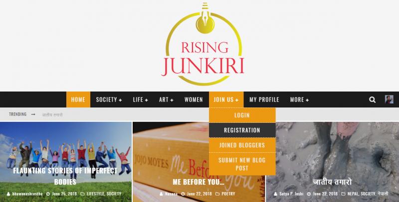 rising junkiri