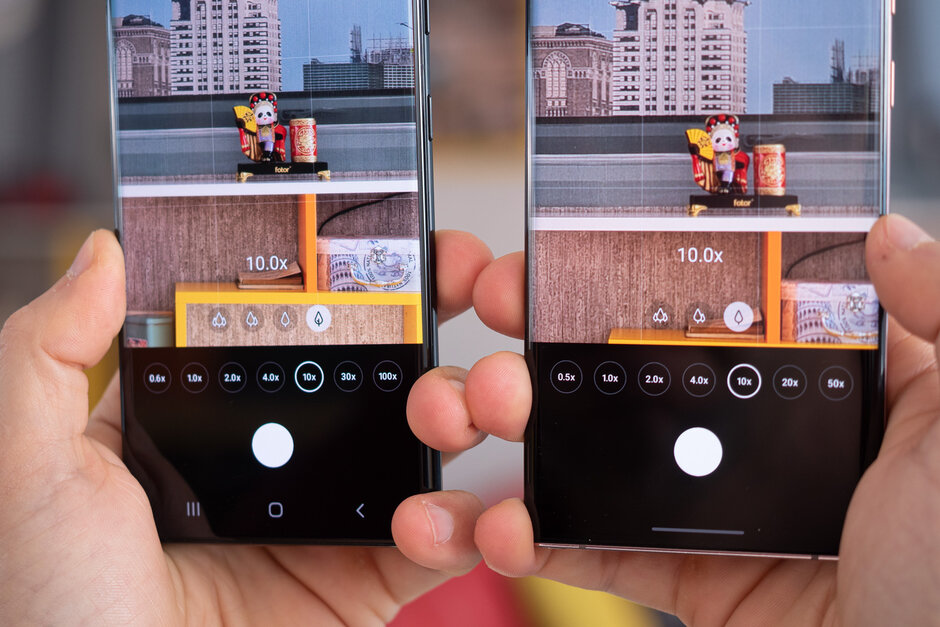Samsung Galaxy S21 Ultra vs Galaxy Note 20 Ultra