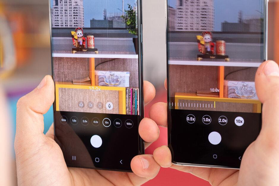 Samsung Galaxy S21 Ultra vs Galaxy S10 Plus